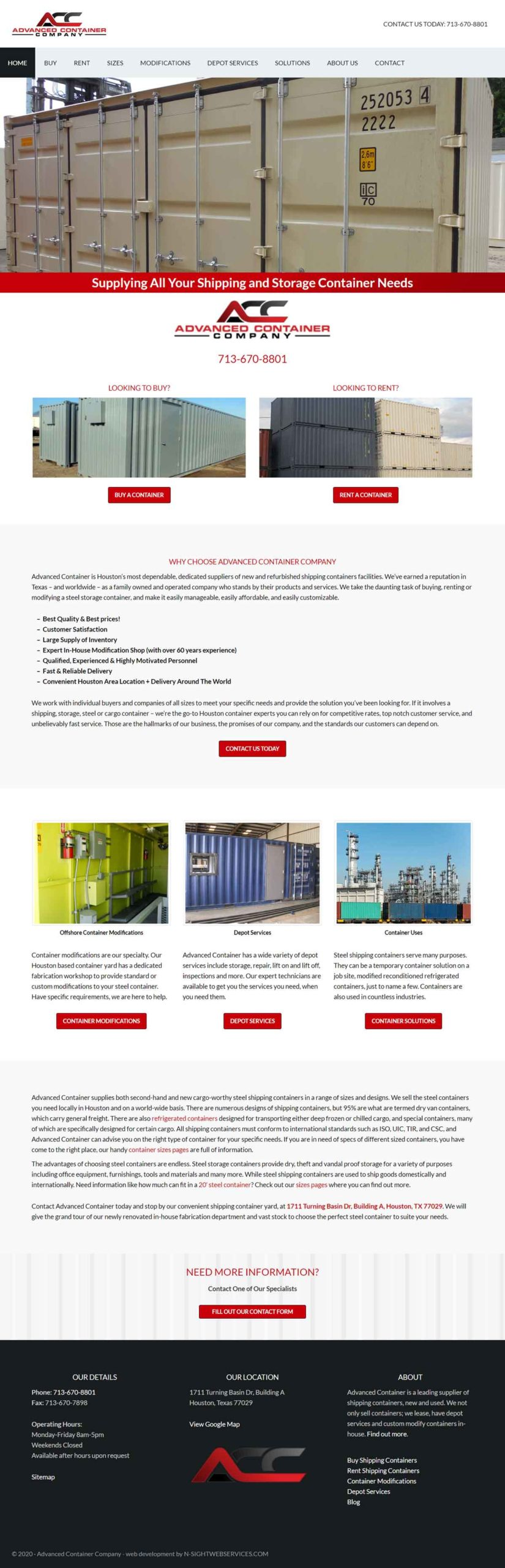 Advanced-Container-Co-Home-Page