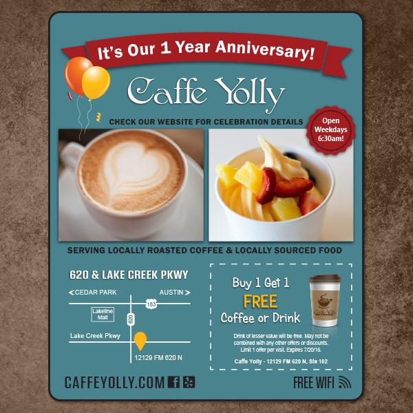 Caffe Yolly Ad