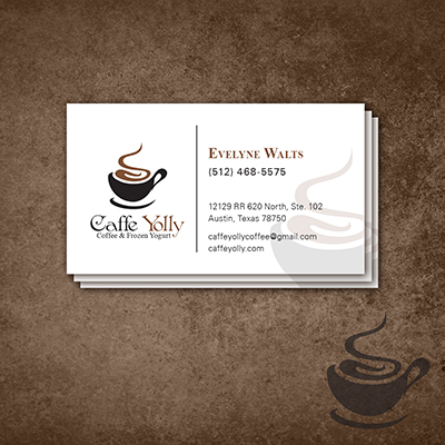 Caffe Yolly Business Cards