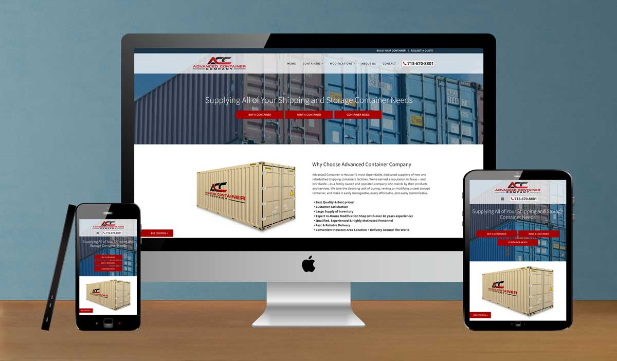 Advanced-Container-Web-Design