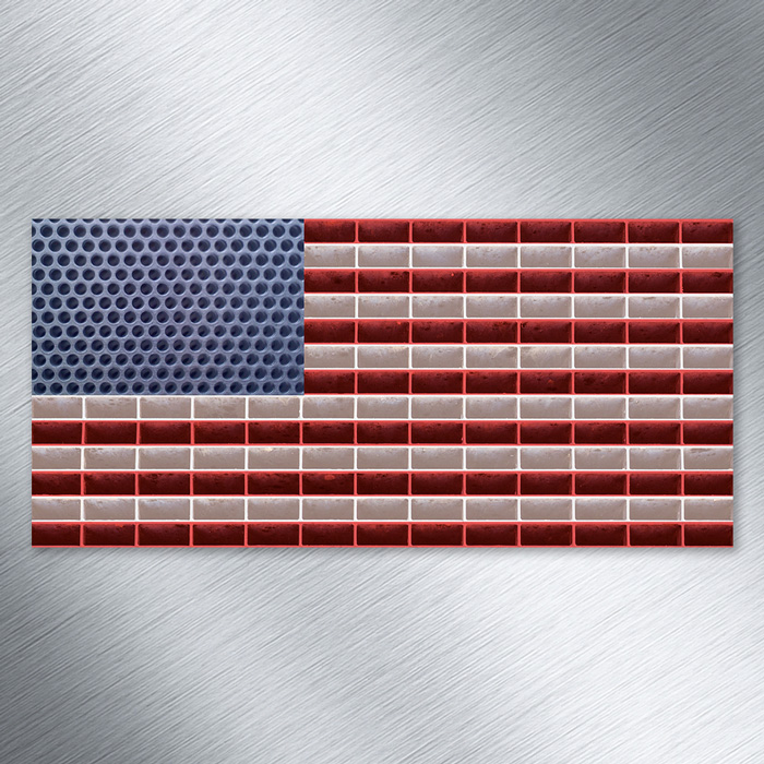 US-Flag-made-of-metal
