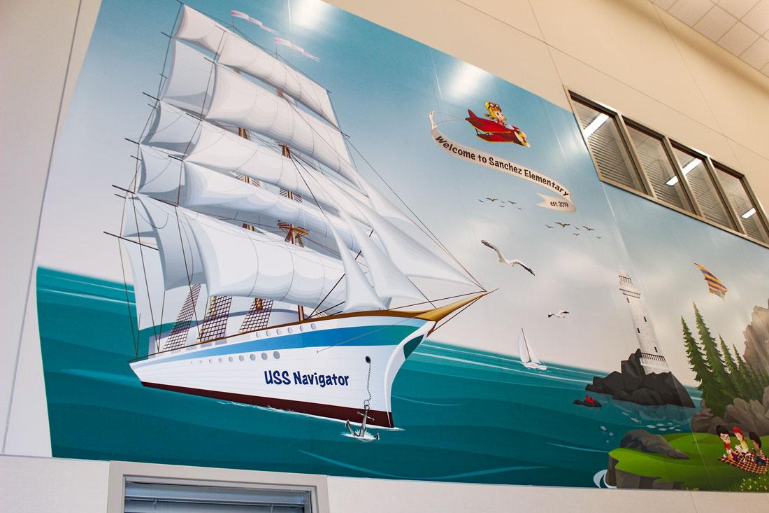Bel-Nafegar-Sanchez-Elementary-mural