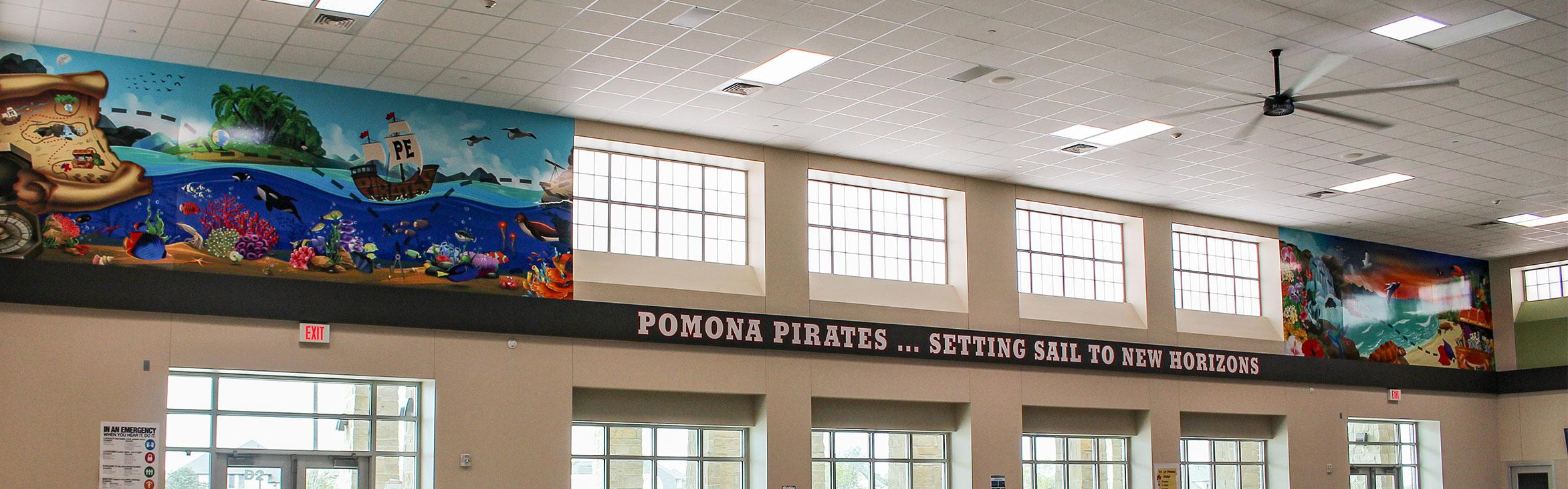 pomona elementry school murals