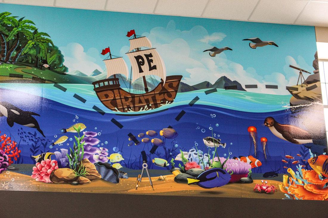 Pomona-Pirates-digital-mural