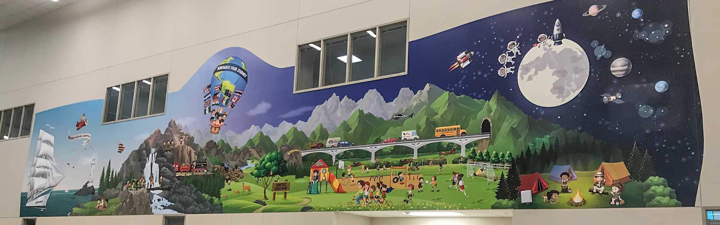 Sanchez-Elementary-School-Murals