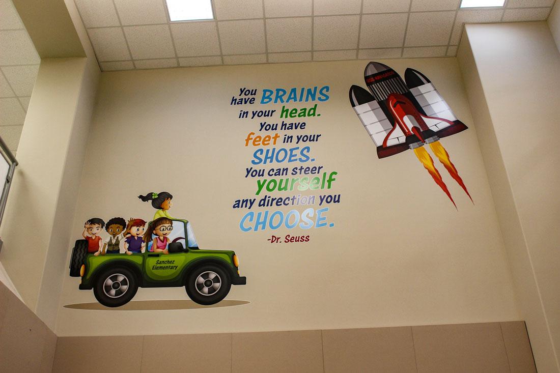 Sanchez-Elementary-School-Wall-Mural