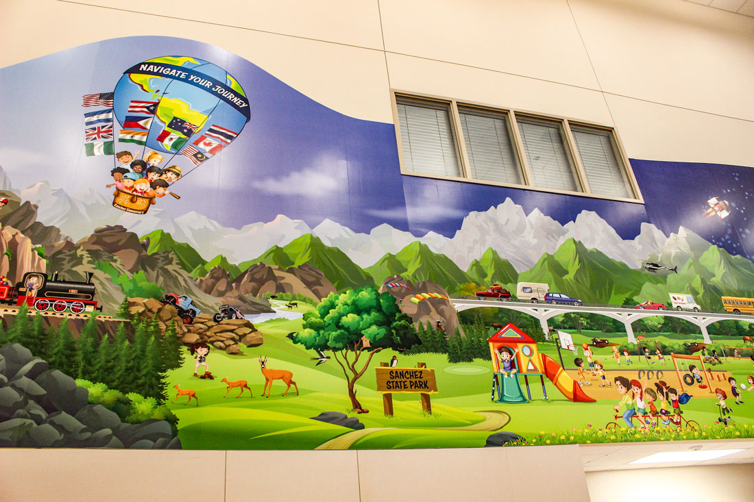cafeteria-wall-mural